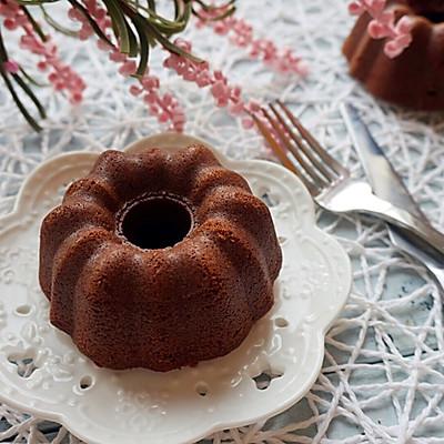 巧克力咕咕霍夫蛋糕