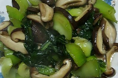 蚝油香菇青菜
