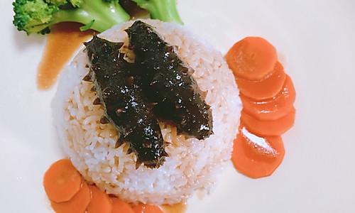 海参捞饭的做法