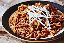 星座系列-传统京酱肉丝·摩羯座的做法