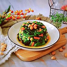 #餐桌上的春日限定#凉拌菠菜花生米