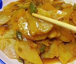 土豆片炒尖椒的做法