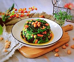 #餐桌上的春日限定#凉拌菠菜花生米的做法