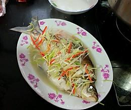 清蒸菜板鱼的做法