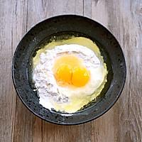 韭菜鸡蛋饼#急速早餐#的做法图解1