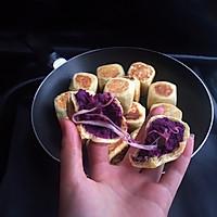 网红紫薯芝士拉丝仙豆糕