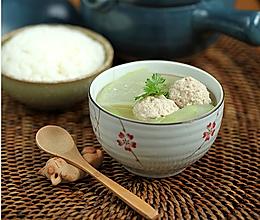 冬瓜汆丸子汤的做法