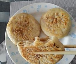 豆渣面麻酱椒盐饼的做法