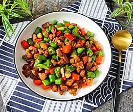杭椒炒肉丁的做法