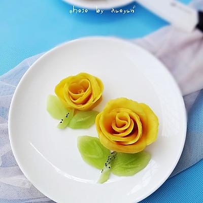 芒果玫瑰花