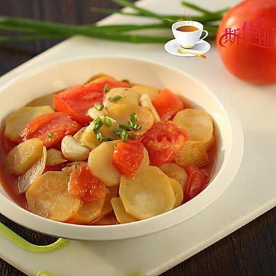 番茄炒土豆片