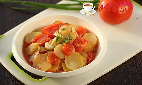 番茄炒土豆片#樱花味道#的做法
