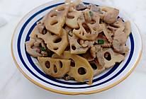 藕片炒肉(李锦记旧庄蚝油)的做法