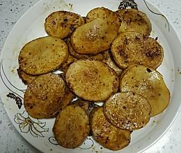 烤杏鲍菇(无油减肥餐)的做法