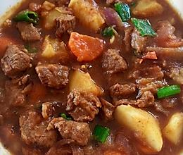 喷香的红烧牛肉土豆的做法