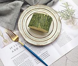 #安佳食力召集,力挺新一年#抹茶条纹密瓜卷的做法