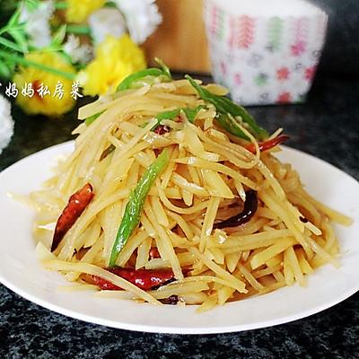 【凉拌土豆丝】——夏日极棒的开味小菜