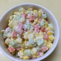 玉米沙拉的做法图解3