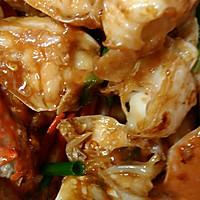 姜葱炒花蟹(梭子蟹)的做法图解6