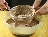 巧克力麦芬的做法图解1