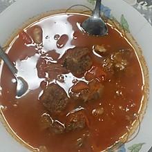 西红柿牛肉