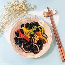 彩椒拌木耳——十分钟快手菜