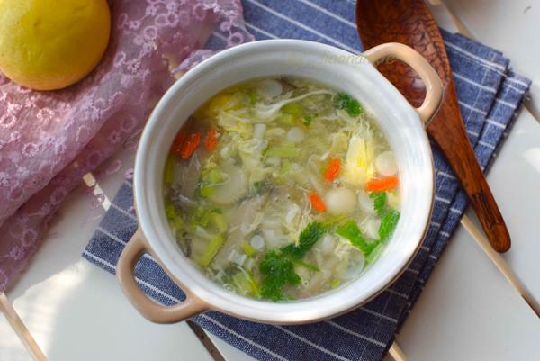 鲜香无比的快手山药菌菇汤的做法