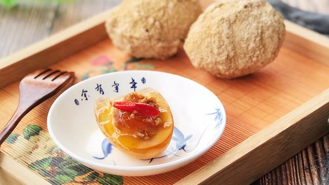 姜汁凉拌黄金皮蛋的做法