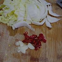 家常醋溜白菜#平衡美食大作战#的做法图解2