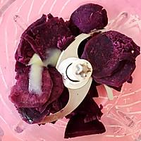 紫薯山药糕的做法图解5
