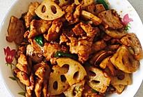 猪肉炒藕丁的做法
