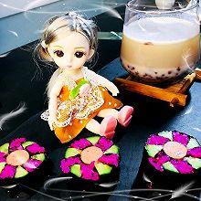 俪姐早餐之梅花寿司➕红豆蛋白奶昔