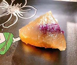 #甜粽VS咸粽,你是哪一党?# 水晶粽子的做法
