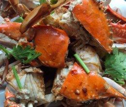 #鲜到鲜得,月满中秋,沉鱼落宴#香辣梭子蟹的做法