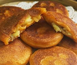 一根香蕉,一碗糯米粉,一块地瓜,就能做出美味的红薯香蕉糯米饼的做法