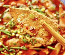 【创意小厨娘】水煮猪肝——猪肝滑嫩,酸辣开胃,比爆炒更好吃。的做法