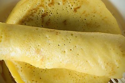 豆香玉米饼