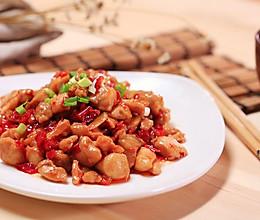 剁椒鸡丁—豆果的做法