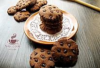 【巧克力豆曲奇饼】#长帝烘焙节#的做法