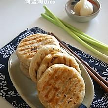 【葱香猪肉馅饼】