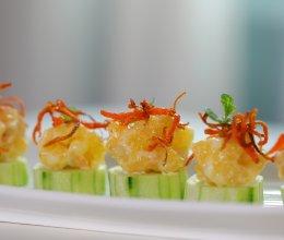 #一起土豆沙拉吧#⭐柠香沙拉虾⭐的做法