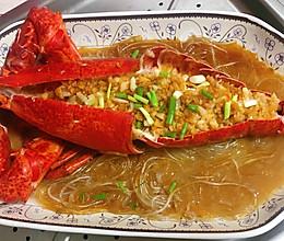鲜美蒜蓉大龙虾的做法