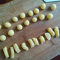 """黄金薯粒——美亚粉尚""""靓瘦""""好锅试用菜谱的做法图解4"""