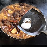 #助力高考营养餐#番茄土豆炖牛腩的做法图解21