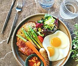 欧式农场早餐的做法
