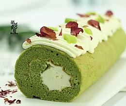 开启绿色养生之道- 大麦若叶青蛋糕卷的做法