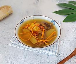 虫草菌菇鸡汤的做法