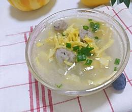 天冷了,给宝宝来一碗补铁暖胃的牛肉丸子汤,增强体质!的做法