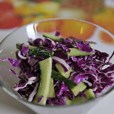 减肥美容的清爽沙拉