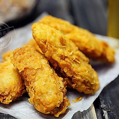 香辣炸鸡翅